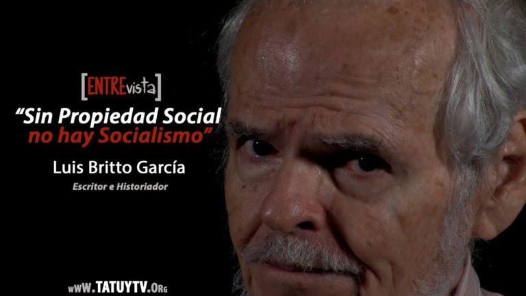 """[VIDEO] """"Sin Propiedad Social no hay Socialismo."""" Entrevista a Luis Britto García"""