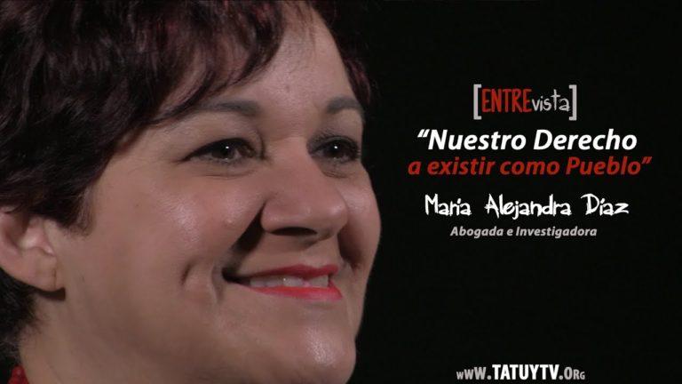 [VIDEO] «Nuestro derecho a existir como Pueblo». Entrevista a María Alejandra Díaz