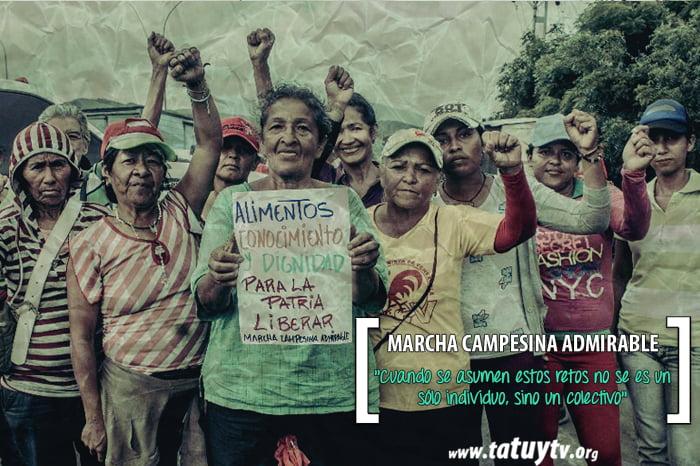 [LUCHAS] Marcha Campesina Admirable: «Cuando se asumen estos retos no se es un sólo individuo, sino un colectivo»