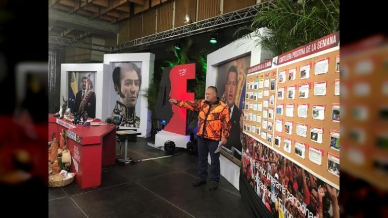 Cabello a Tatuy Tv: Gracias por hacer sentir la palabra de Hugo Chávez