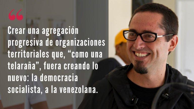 [ENTREVISTA] Chavismo, autoorganización y reactivación: una conversa con Antonio González Plessmann
