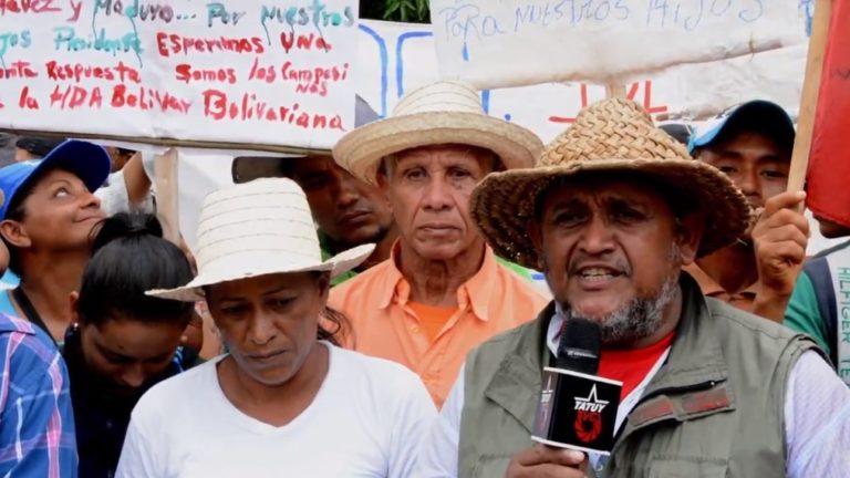 [VIDEO] Vocero de Plataforma Nacional Campesina saluda a TatuyTv