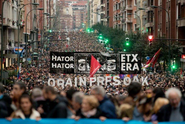 [INTERNACIONALISMO] Euskal Herria: 'Ahora Lxs Presxs y Exiliadxs'