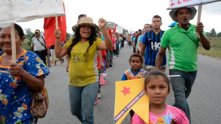 [VIDEO] El Movimiento Campesino sigue en pie de lucha