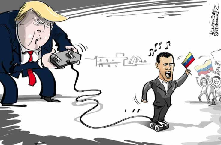 """[ANÁLISIS] El protagonismo de Trump impide cualquier solución en su """"patio trasero"""""""