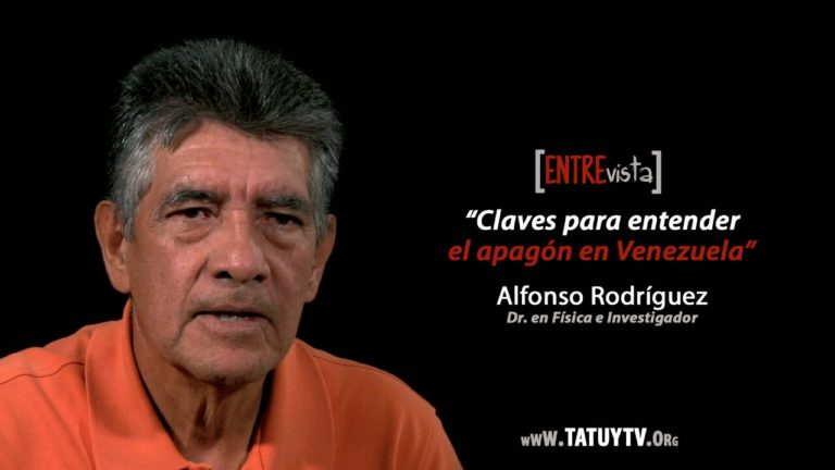 [VIDEO] Claves para entender el apagón en Venezuela. Entrevista a Alfonso Rodríguez.
