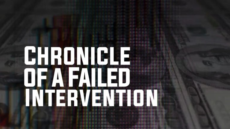 [VIDEO] Chronicle of a Failed Intervention (English version)