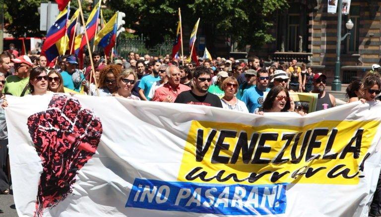 [INTERNACIONALISMO] Euskal Herria: El 4 de mayo el pueblo vasco gritará: Venezuela Aurrera! (Adelante Venezuela!)