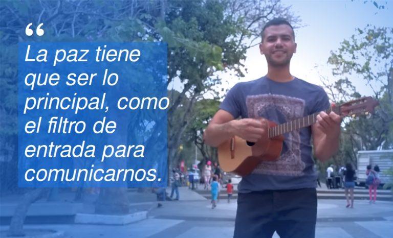 [ENTREVISTA] José Alejandro Delgado: «La Paz es ya»
