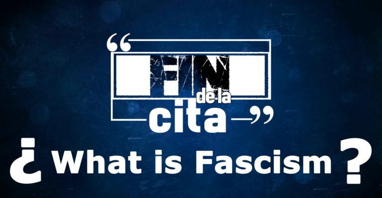 [END QUOTE] What is fascism? (English subtitles)