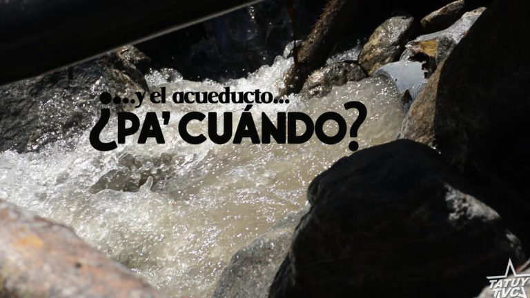 [VIDEO] …y el Acueducto ¿pa' cuándo?
