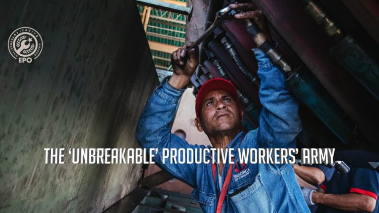 [VIDEO] The 'Unbreakable' Productive Workers' Army