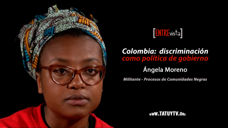 [ENTREVISTA] Colombia: discriminación como política de gobierno – Angela Moreno