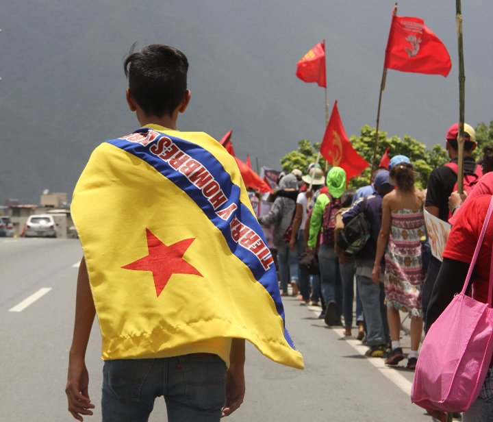 [LUCHA CAMPESINA] ¡Chávez Vive! ¡La Marcha Sigue!