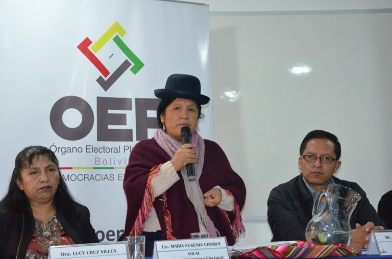 [BOLIVIA] TSE califica ataques violentos a casa de campaña del MAS-IPSP como delitos electorales