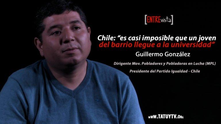 [ENTREVISTA] Chile: «es casi imposible que un joven del barrio llegue a la universidad»