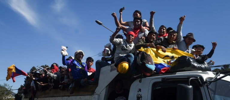 [ECUADOR] ¿Por qué la victoria del movimiento indigenista no es total?