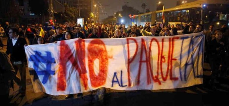 [ECUADOR] La hora de la insurrección popular