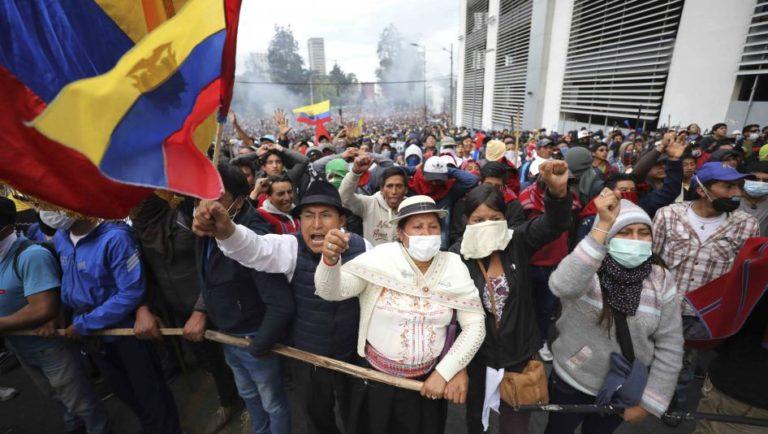 [ECUADOR] El movimiento indígena ha dicho basta y ha echado a andar.