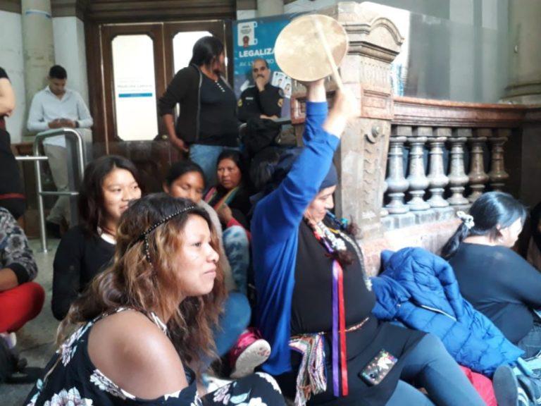 [ARGENTINA] Mujeres indígenas ocuparon el Ministerio del Interior