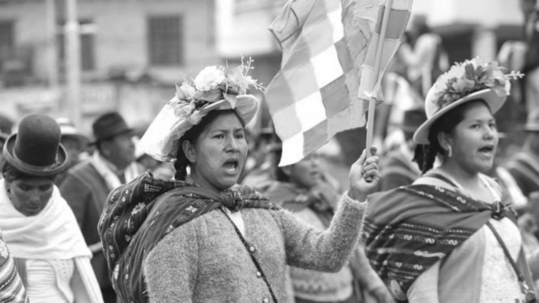 """[Bolivia] Sandra Cossio, dirigenta indígena boliviana: """"Este golpe de Estado es machista"""""""