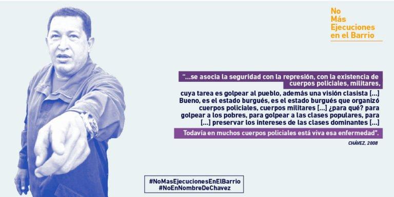 [OPINIÓN] Sobre la campaña #NoMasEjecucionesEnElBarrio: ¿Táctica del imperialismo, tontos útiles o debate necesario a lo interno del chavismo?