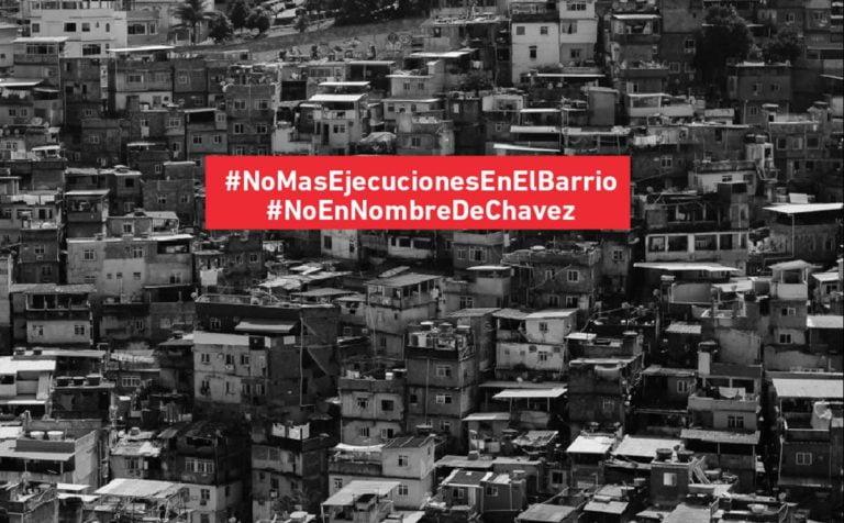 """[ENTREVISTA] """"El momento de la gente es siempre"""": Violencia policial, Chávez y la crítica"""