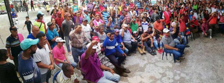 [Plataforma de Lucha Campesina]: Tierra, producción y la defensa ante los ataques de las mafias agrarias