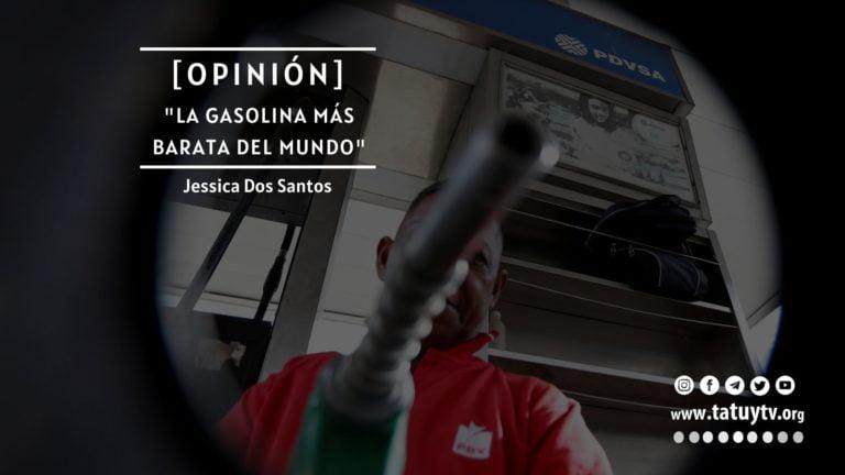 """[OPINIÓN] """"La gasolina más barata del mundo"""""""