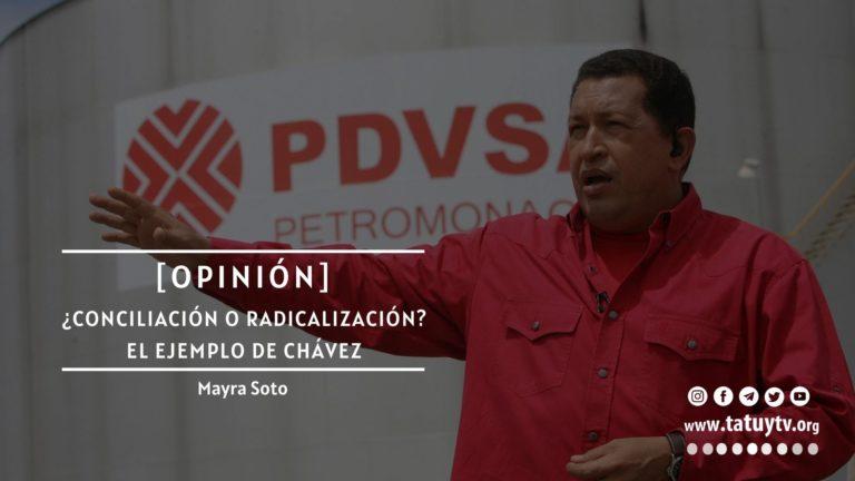 [OPINIÓN] ¿Conciliación o radicalización? El ejemplo de Chávez