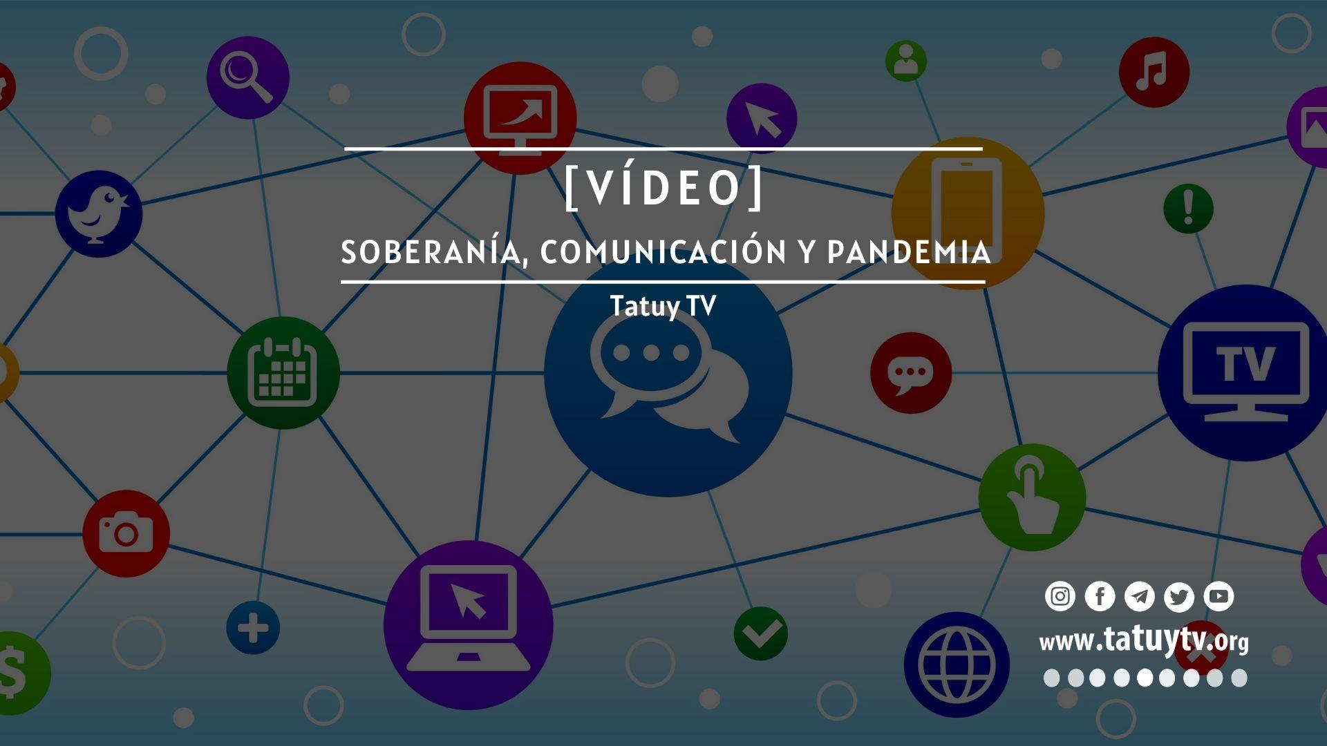 soberania, comunicación y pandemia