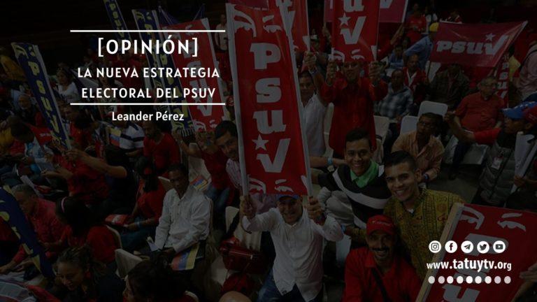 [OPINIÓN] La nueva estrategia electoral del PSUV