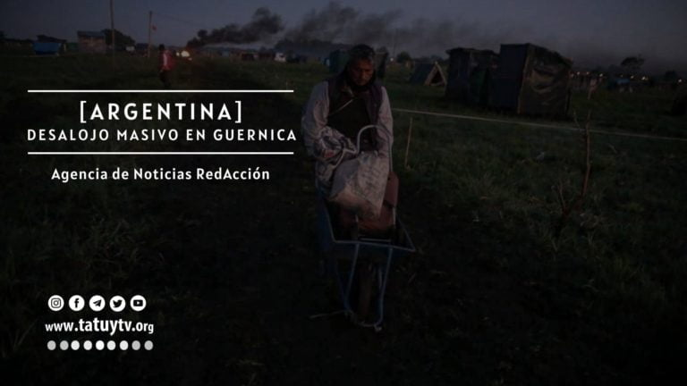 [ARGENTINA] Desalojo masivo en Guernica