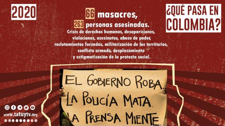 [PROTESTA] ¿Qué pasa en Colombia?