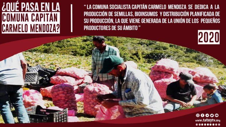 [COMUNAS] ¿Qué pasa en la Comuna Capitán Carmelo Mendoza?