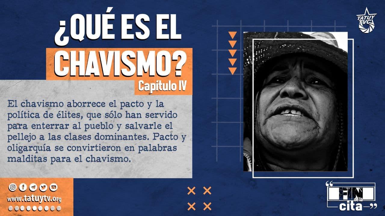 Postal Qué es el Chavismo 4