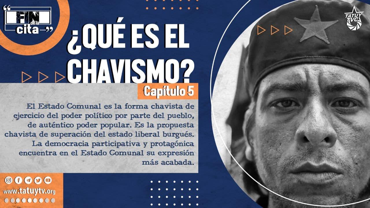 Postal Qué es el Chavismo 5