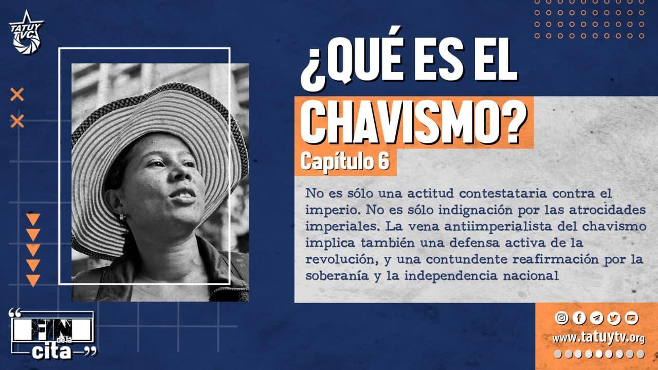Postal Qué es el Chavismo 6