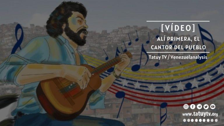 [VÍDEO] Alí Primera, el cantor del pueblo