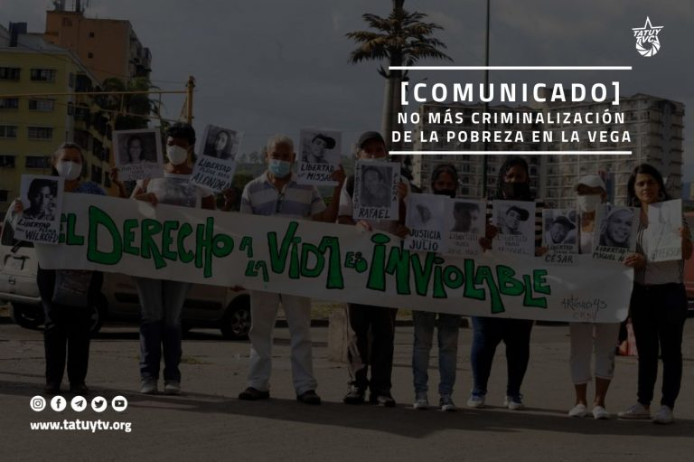 [COMUNICADO] No más criminalización de la pobreza en La Vega